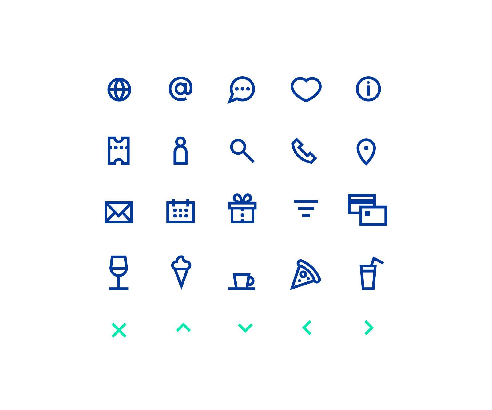 NetTicket: Icons